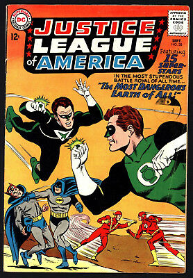 Justice League Of America #30 From Sep 1964 Nice Original Owner Copy