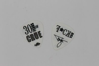 Tommy Lee Concert Owned Used Guitar Pick Motley Crue 2011 F*CK YOU POISON Sixx