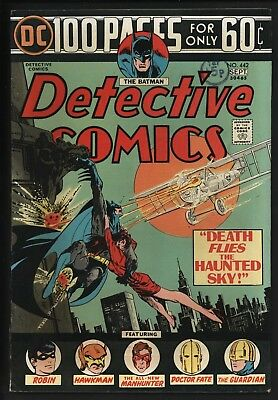 Detective Comics #442 New Batman Story + Simonson Manhunter Glossy + White Pages