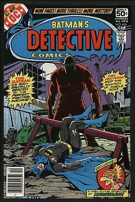 Detective Comics #480 Non Distributed 9.2 White Pages Investment Grade Copy