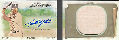 2018 Topps Allen and Ginter Baseball Part 5 Insert, Autograph and Relic Cards
