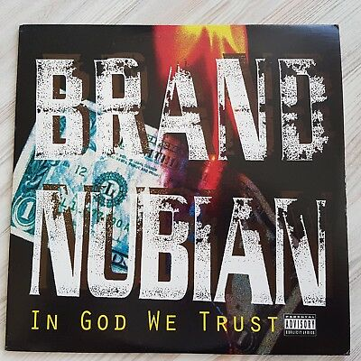 Brand Nubian - In God We Trust  Us Og 1992