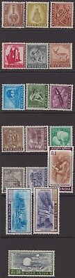 India Modern 1965-75 SG504-520 Agriculture-Tourist Set 18 UM CV£50+