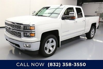 Chevrolet Silverado 1500 LTZ Texas Direct Auto 2015 LTZ Used 6.2L V8 16V Automatic 4WD Pickup Truck Bose