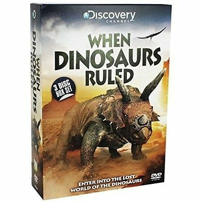 When Dinosaurs Ruled - 3 disc set DVD  NEW & SEALED