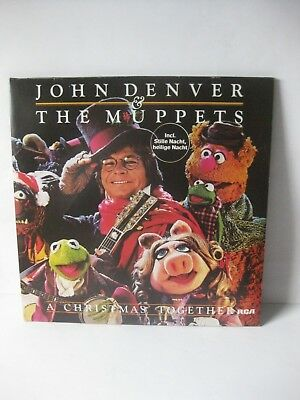 LP JOHN DENVER & THE MUPPETS incl. Stille Nacht, heilige Nacht