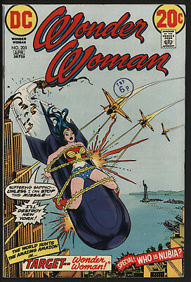 Wonder Woman #205 1973 With White Pages!