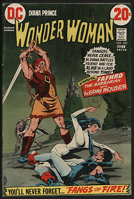 Wonder Woman #202 1972 With White Pages!