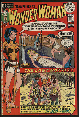 Wonder Woman #198 1972 With White Pages!