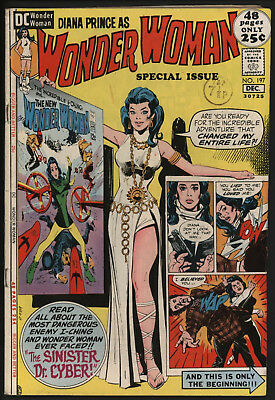 Wonder Woman #197 1971 With White Pages!