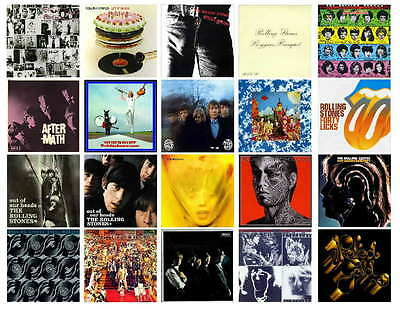 Rolling Stones Top 20 Albums  Photo-Fridg Magnets