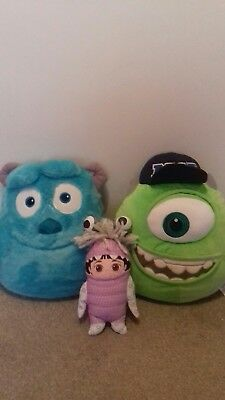 Sensational Monster Inc Mike And Sully Fleece Toilet Seat Cover Set Caraccident5 Cool Chair Designs And Ideas Caraccident5Info