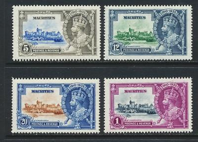 Mauritius, 1935 Silver Jubilee Set, Vf Mlh (See Below)