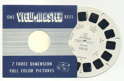 Cote VERMEILLE France 1950's RARE Belgium-made ViewMaster Single Reel 1490
