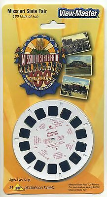 100th. Anniversary MISSOURI STATE FAIR 2001 View-Master Packet Sealed Mint