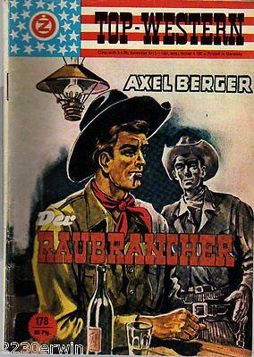 TOP WESTERN EXPRESS 178 / Axel Berger / (1962-1975 Indra-Verlag)