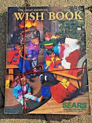 Vintage Sears Catalog 1996 Wish Book Christmas Ribbon Tie Lego Game Boy Nintendo