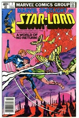 Marvel Spotlight Starlord #7 (1980) NM- New Marvel Bronze Copper Collection