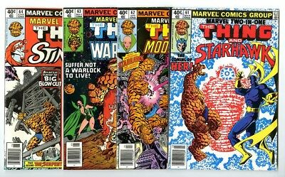 Marvel Two-In-One #61,62,63,64 Avg NM New Marvel Bronze Copper Collection