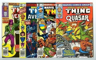 Marvel Two-In-One #73,74,75,76 Avg NM New Marvel Bronze Copper Collection