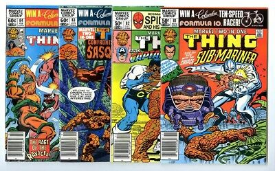 Marvel Two-In-One #81,82,83,84 Avg NM- to NM New Marvel Bronze Copper Collection