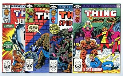 Marvel Two-In-One #89,90,91,92 Avg NM New Marvel Bronze Copper Collection