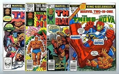 Marvel Two-In-One Annuals #3,4,5,7 Avg NM- New Marvel Bronze Copper Collection