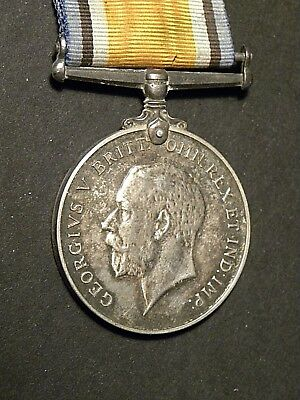 52934 WWI British War Medal George V Silver Cpl FW Beetles Royal Fusiliers UK