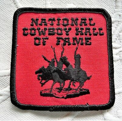 National Cowboy Hall of Fame Souvenir Patch