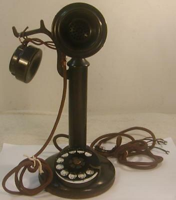 Antique American Bell Telephone Company Western Electric Candlestick Phone-Cool