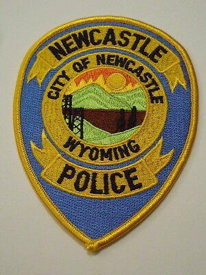New Castle Wyoming Police Patch