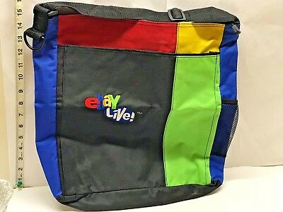New Ebayana Ebay Live 2008 BackPack bag tote Original convention Chicago Canvas