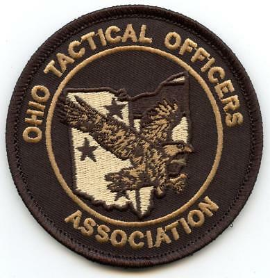 """Ohio Tactical Officers Association 3.5"""" Patch Police Law Enforcement Officer LEO"""