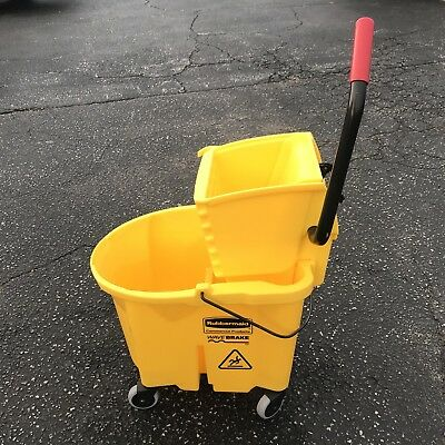 Rubbermaid (Commercial Products) Wavebrake Mop Bucket/Wringer