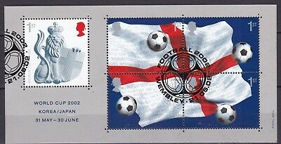 Gb 2002 Football World Cup S/s (14) Used