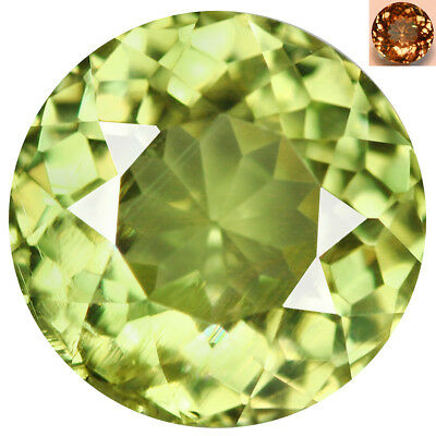 1.73Ct Sparkling Round Cut 7 x 7 mm AAA Color Change Turkish Diaspore