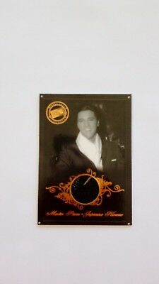 Elvis Presley Press Pass Japanese Kimono  Swatch Card