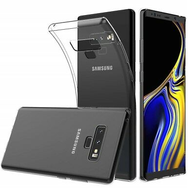 For Samsung Galaxy Note 9 Clear Slim Gel Case Silicone TPU Back Phone Cover