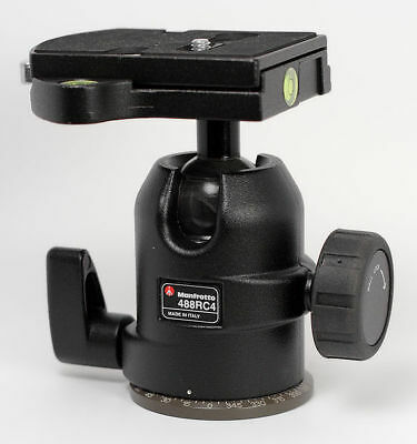 Manfrotto 488RC4 Midi Ball Head with RC4 System (Quick Release)