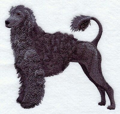 Large Embroidered Zippered Tote - Portuguese Water Dog C9631