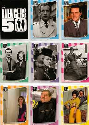 Avengers 50th Full 72 Card Base Set of Trading Cards from Unstoppable Cards