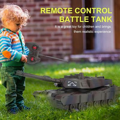 RC Tank 4CH Remote Control Military Battle Tank Toy RC Model Vehicle Camouflage