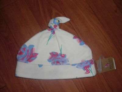 BNWT JOULES BABY GIRLS REVERSIBLE SUMMER HAT POSY BLOOM 3-6 or 6-9 MONTHS.LAST 2