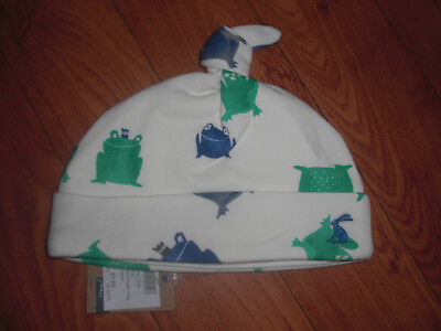 Bnwt Baby Boys Joules Frog Prince Hat 0-3 Or 3-6 Months.rrp £7.95 Last 2 Left!!!