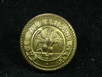1912-1930 EAGLE OIL & SHIPPING Co. Ltd. LINE 24mm GILT COAT BUTTON J.R. Gaunt