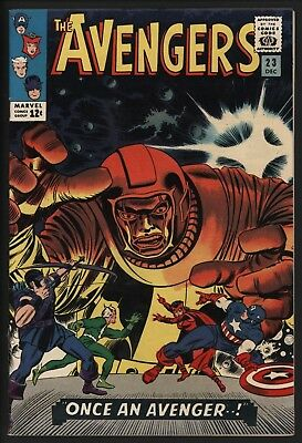 Avengers #23 Fantastic Kang Cover! Super Glossy Vf+ 8.5 With White Pages