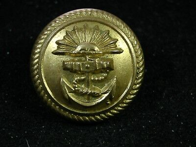 Early 20th C. PENINSULAR & ORIENTAL STEAMSHIP LINE, Ltd. 24mm GILT COAT BUTTON