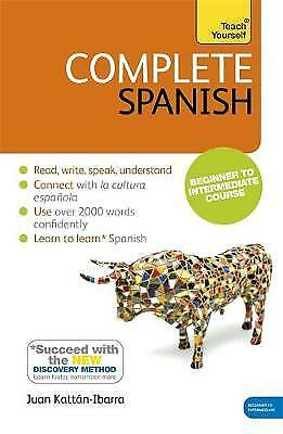 Complete Spanish: Teach Yourself, Kattn Ibarra, Juan