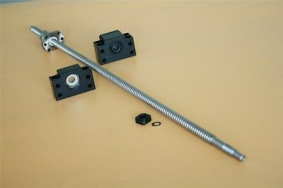 SFU1204 250MM to1500MM CNC End Machine With BK10/BF10 Support Ball Screw