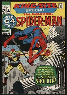 AMAZING SPIDER-MAN ANNUAL #8 REPRINTS ASM #50 & 1st SHOCKER ASM #46 ND IN THE UK